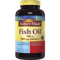 鱼油1000 mg w. Omega-3 300 mg, 320粒