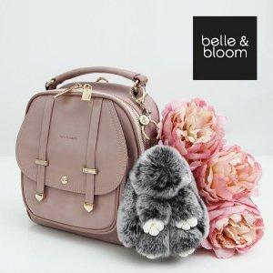 全场65折,折扣区也参加,满额赠可爱钥匙扣Belle & Bloom官网现有美包配饰全场热卖,收平价Chloe, GG相机包