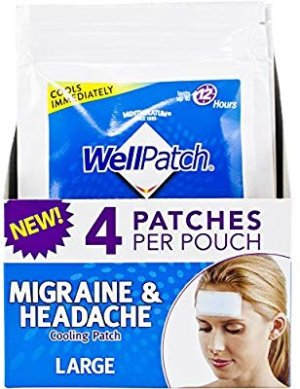 $3.74WellPatch Migraine & Headache Cooling Patch - Drug Free