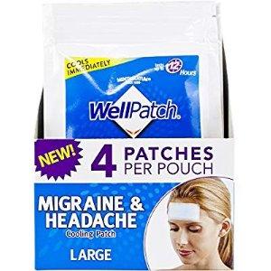 $2.84WellPatch 长效偏头痛冷却贴 4片