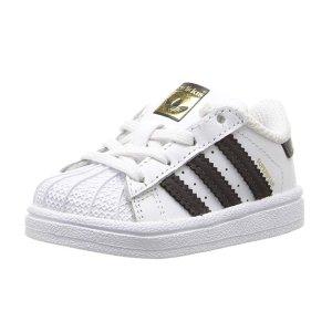 $32.33(原价$45)+包邮adidas Superstar 儿童运动休闲鞋,100%真皮