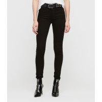 ALLSANTS 黑色高腰修身牛仔裤