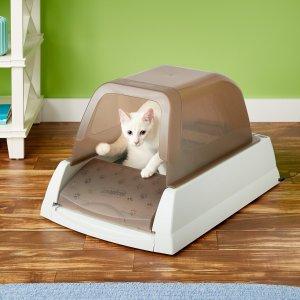 $129ScoopFree Ultra Self-Cleaning Cat Litter Box