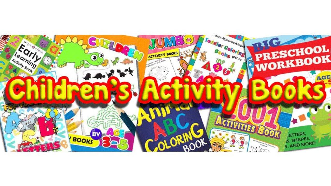 在家带着小朋友们一起做练习书吧 | Activity Books📚