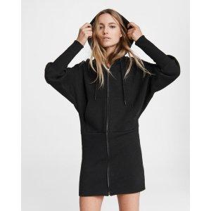 Rag & BoneForest hoodie mini dress