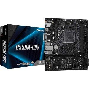 ASRock B550M-HDV AM4 mATX AMD Motherboard