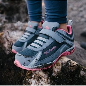 低至5折+ 免邮Columbia官网 儿童鞋履热卖 防水保暖好打理