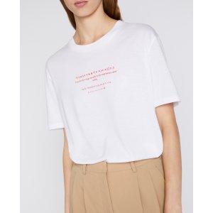 Stella McCartneyWomen's White Fortune Cookie T Shirt | Stella McCartney Men