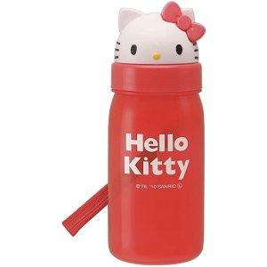 Skater 吸管式 水壶 350毫升 Hello Kitty