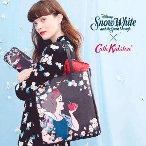 精选8折 美衣美包家居用品全都有 £10起上新:SNOW WHITE × Cath Kidston 全新联名系列超萌上市