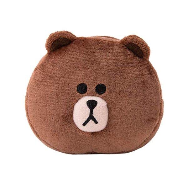 布朗熊 毛绒手机支架