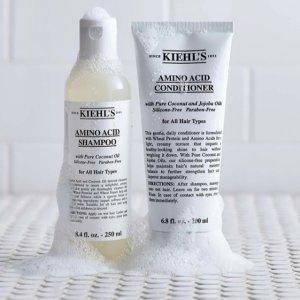 送氨基酸洗发水30ml最后一天:Kiehl's 科颜氏洗护发热卖 收氨基酸洗发水、坚果护发精油
