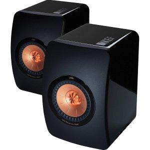KEF LS50 Mini Monitor - High Gloss Piano Black (Pair)