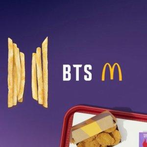 each $7.99McDonald's BTS Meal