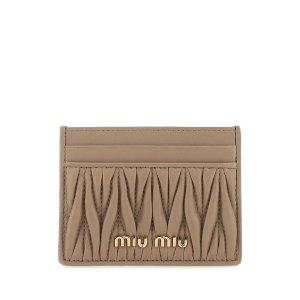 Miu MiuMatelasse 卡包