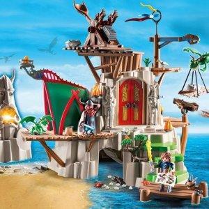 6.6折起,挑战硬核少年敢和Lego抗衡的德国摩比世界,大型场景搭建战场