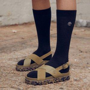 Timberland同款黑色!码全凉鞋