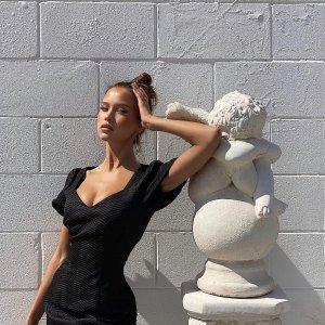 无门槛6折 女神连衣裙$48起THE ICONIC 澳洲超惊艳小众设计感美衣 尝新特惠