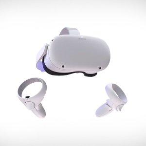 8.8折起Oculus Quest 2 二代VR 2K分辨率,更大存储