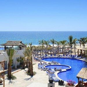 $65起/晚 含餐食+住宿+娱乐+潜水课程墨西哥 Los Cabos 4星级全包式度假酒店