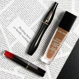 限时9折 粉底 口红都有Lancome 精选护肤彩妆产品折扣热卖