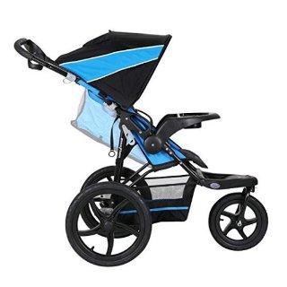 $53.84(原价$109.99)史低价:Baby Trend Xcel 慢跑三轮童车,带遮阳篷