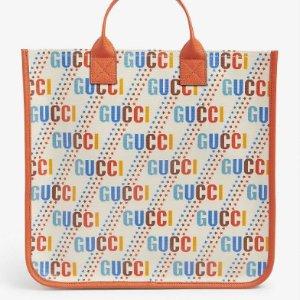 封面手袋€435 羊毛围巾€195上新:Gucci 超可爱大童包包配饰又上新啦 不到正价一半买大牌