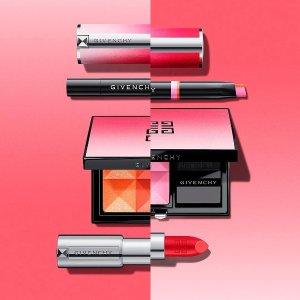 无门槛85折 四宫格散粉 小羊皮都参与Givenchy 全线彩妆超值热卖!