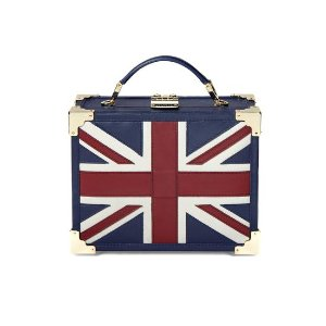 Brit Mini Trunk Clutch | Aspinal of London