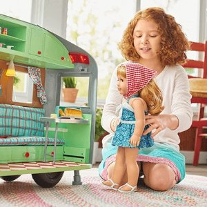 Flat Shipping Fee $100+Up to 50% Off Select Items @ American Girl
