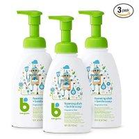 BabyGanics 婴儿专用餐具奶瓶泡沫清洁剂 16盎司,3瓶装