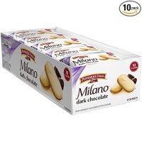 Pepperidge Farm Milano 黑巧克力曲奇饼 10包独立包装
