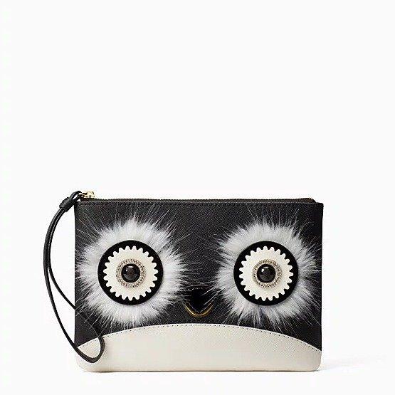 大眼睛企鹅手包