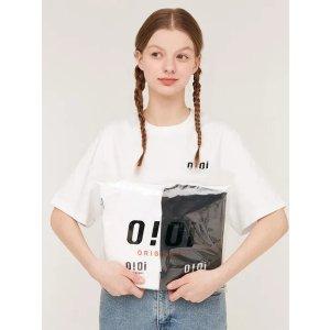 5252 by o!oI100%全棉!S/M/L码!白色logoT恤