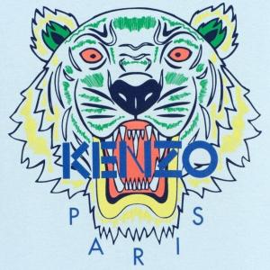 低至5折 $98收薄荷绿Logo T恤上新:Kenzo 夏季必备潮服 $128收经典虎头T恤