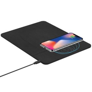 $17 Tzumi Wireless Charging Pad and Rechargeable Wireless Mouse