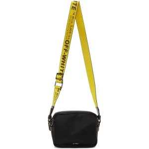 Off-White- Black Industrial Crossbody Bag