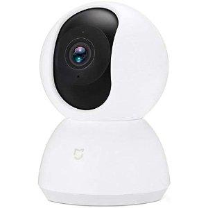 $62.9(原价$69.9)独居必备小米 米家智能安防1080P 摄像头 360度拍摄 带夜视仪