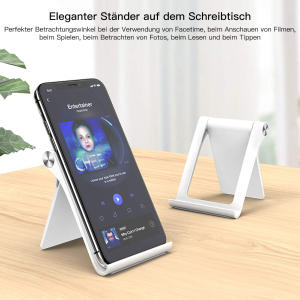 折后仅€8.98TINICR 折叠手机支架 设计简约 适用于手机、平板等