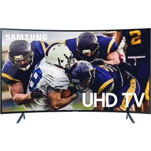 $617.99三星 65寸 RU7300 曲面4K 超高清 HDR 智能电视