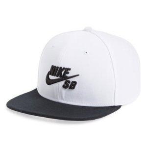 $14.98(原价$30)Nike Pro Logo款棒球帽 黑白配色