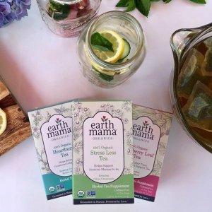 16包$4.31起Earth Mama 女性经期孕期功能有机草本茶