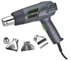 $12.44Genesis GHG1500A Dual Temperature Heat Gun Kit with Four Metal Nozzle Attachments