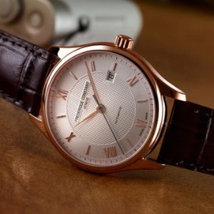 Extra $100 OffFREDERIQUE CONSTANT Classics White Dial Men's Watch