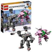 Lego 守望先锋 Overwatch D.VA对战莱因哈特 75973