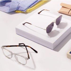 买一送一+额外8.5折EyeBuyDirect 墨镜热卖 夏日驾驶安心 日常小颜道具