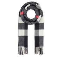 Burberry Fringed 格纹围巾
