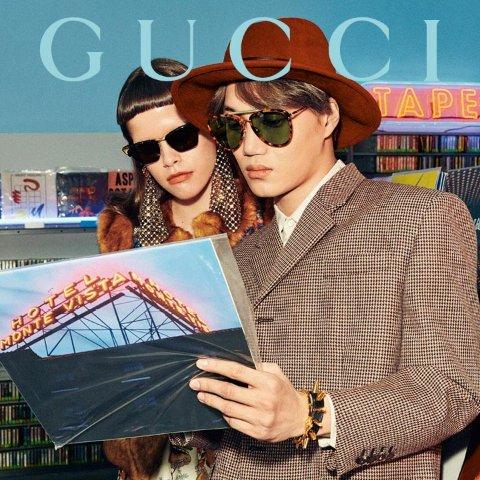 2.6折起 CHLOE八边形墨镜€160Unineed 大牌墨镜热卖 Chloe、Gucci出街凹造型必备
