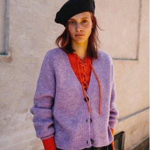 5折起 £50收毛线连衣裙Ganni 冬季大促开始 超多针织毛衣、开衫参与 超好价收INS最火小众品牌