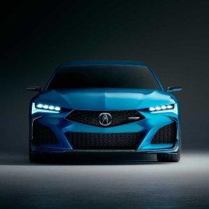 哇 这台车有点帅Acura Type S 概念版四门运动轿车发布
